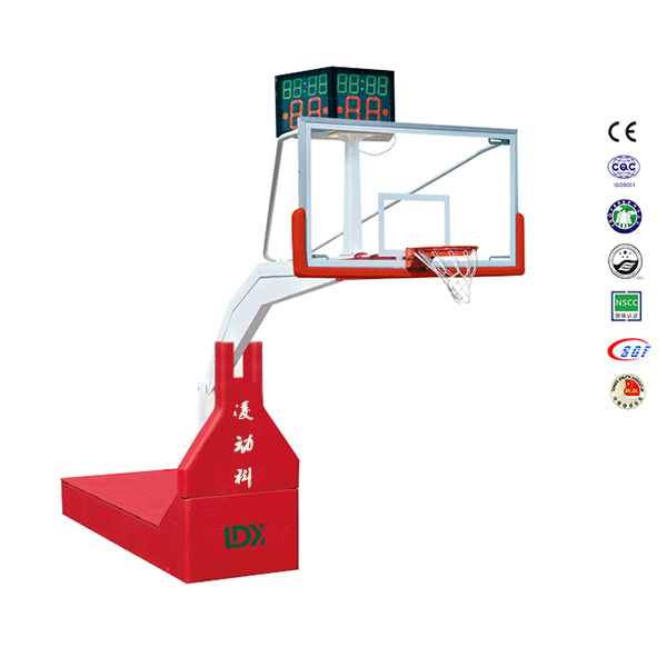 Top Quality Müsabiqə Equipment Hydraulic Basketbol Hoop