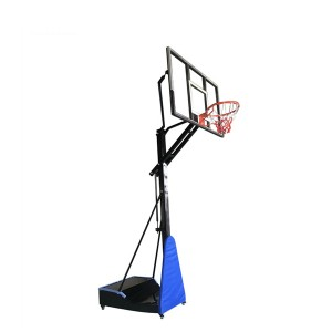 Basketball kev ua si khoom Portable Adjustable Basketball Hoops rau kev kawm