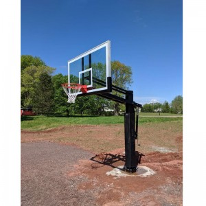 Wholesale Outdoor Adjustable System in Ground Basketball Goal Posts