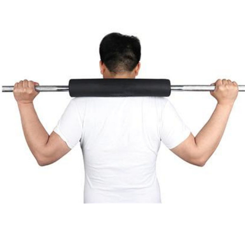 Home Use Shoulder Support Protective Vel cro Barbell Pads Gym Equipment Barbell Foam Pad