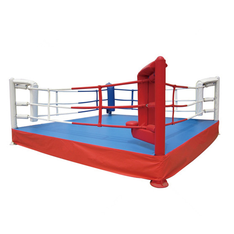 Customize International Standard Floor Boxing Ring Wrestling Elavated Boxing Ring For Competition