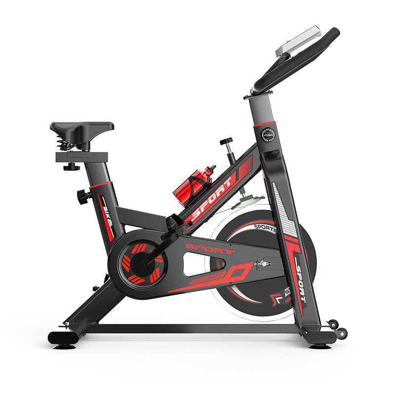 Custom Indoor Slimming Spinning Bike Silent Weight Loss Gym fitness Equipment Portable Cycling Bike Featured Image