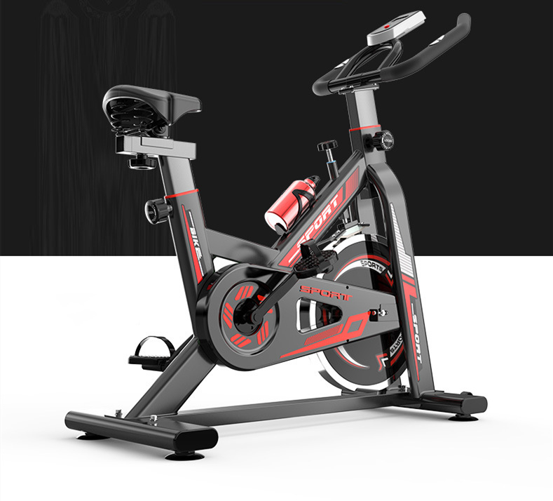 Custom Indoor Slimming Spinning Bike Silent Weight Loss Gym fitness Equipment Portable Cycling Bike