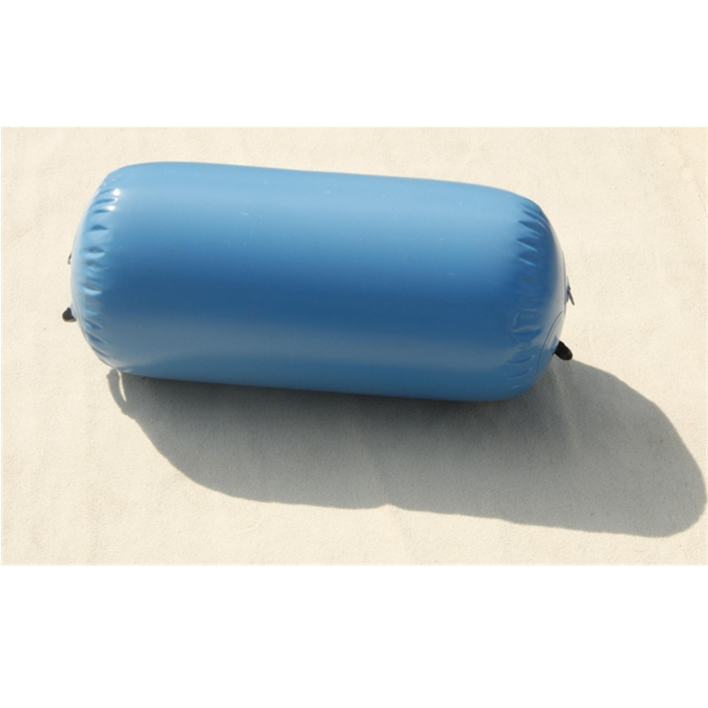 Fitness Air Mat Inflatable Gymnastic Cylinder Mat Barrel Roll Mat