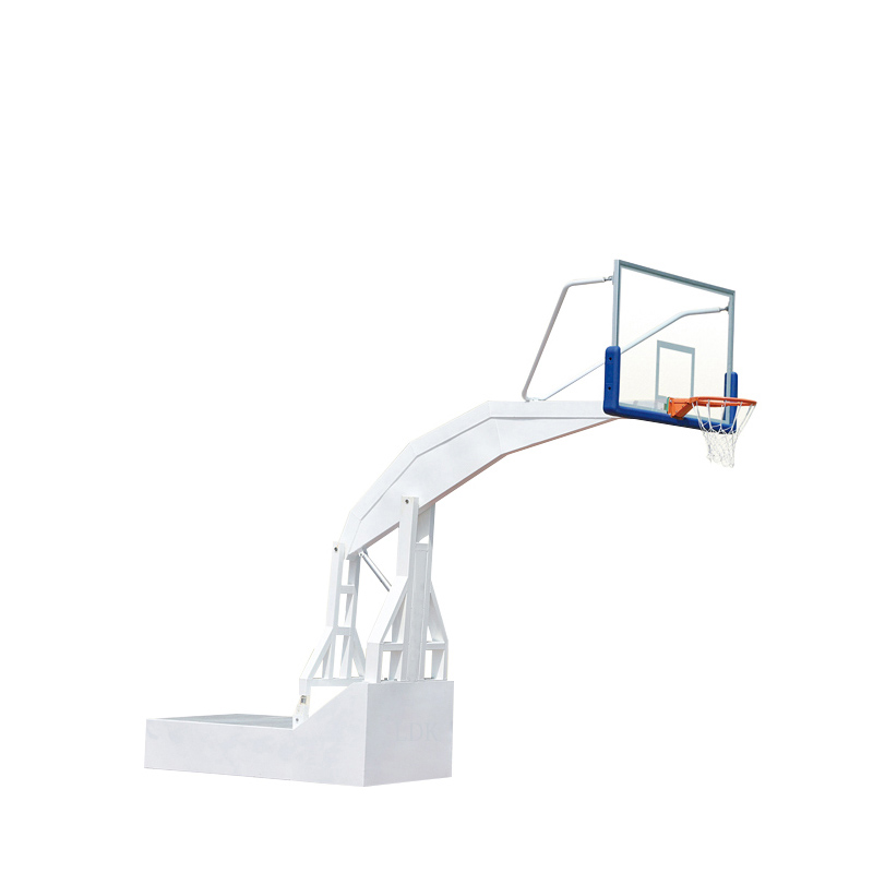 Electric Hydraulic Basketball Stand Hoop Movable Basketball Equipment