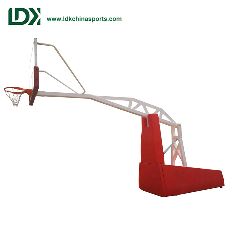 Remote Control Electric Hydraulic Basketball System Best Price Basketball Hoop For Sale