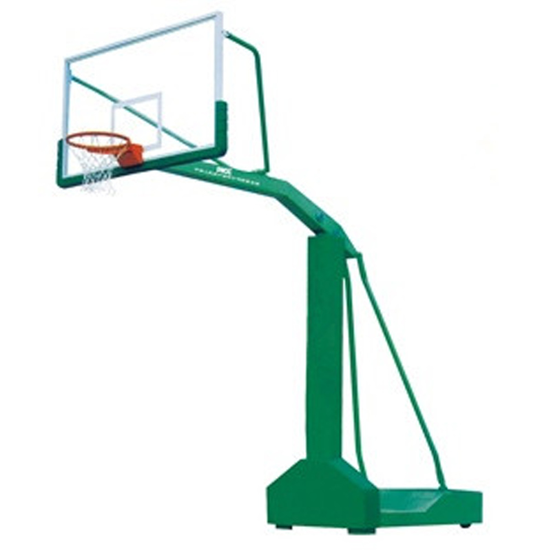Outdoor School/Court Basketball Backstops Basketball Hoop Tempered Glass Backboard On Sale