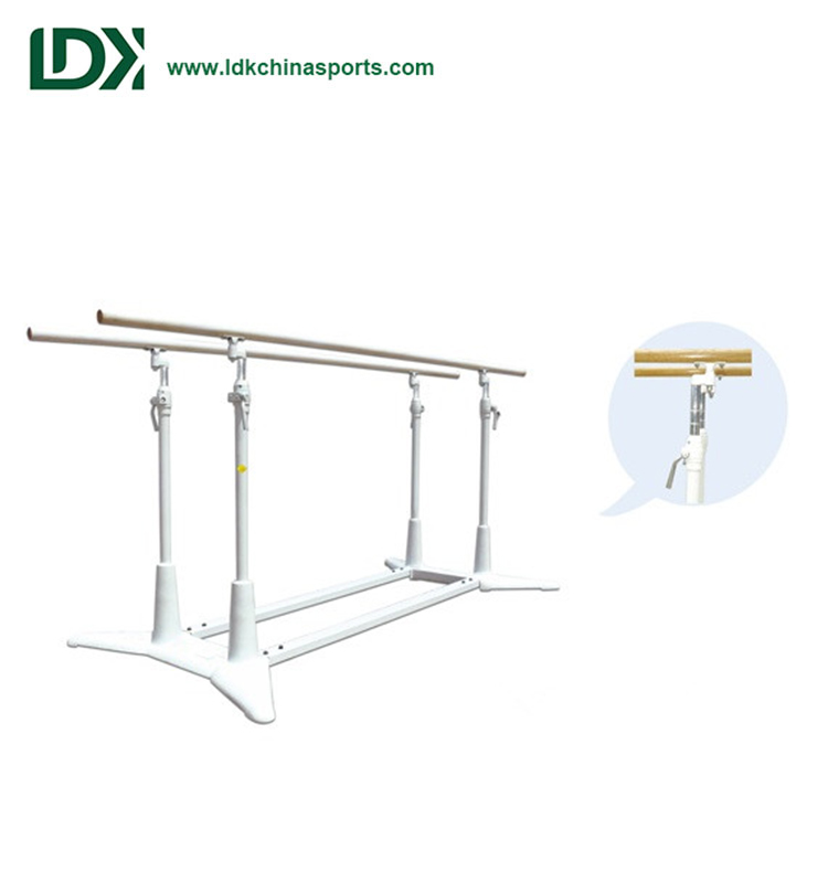 Gymnastic equipment 1.4-1.7m height parallel bars