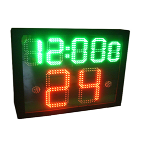 24 second basketball digital clock