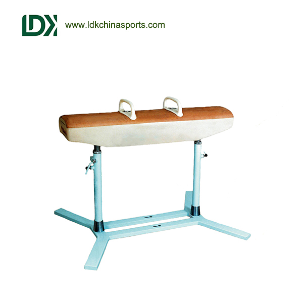 Standard competition gymnastic equipment pommel horse for sale