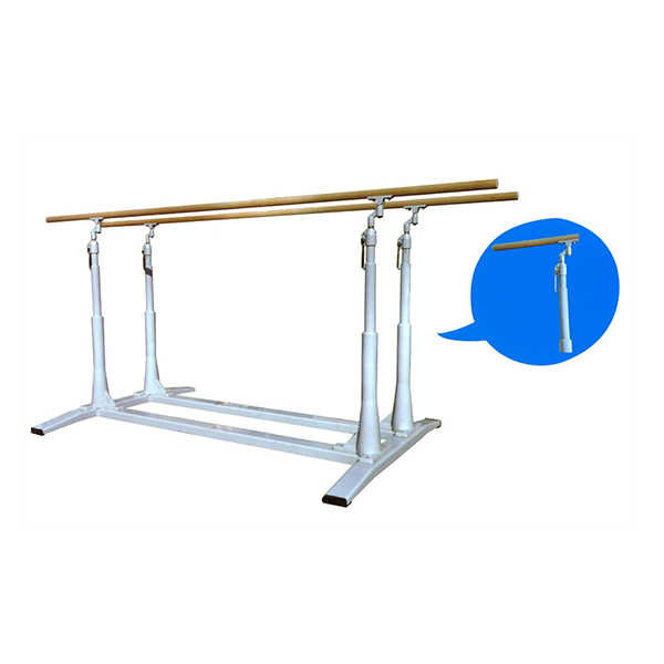 2015 newest durable cheap gymnastics equipment parallel bars for sale