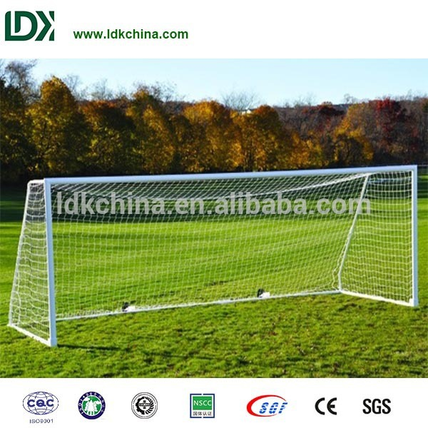 Professional steel 8×24 football goal soccer post