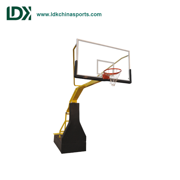2018 Nice Design Indoor Hydraulic Basketball Stand For Top Grade Competition
