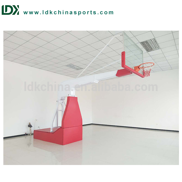 Remote control indoor basketball system portable basketball backboard