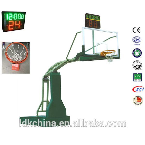 Electric Hydraulic basketball ring system basketball stand