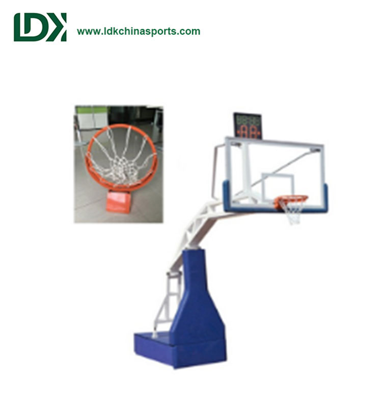 Best sports equipment indoor hydraulic basketball hoop