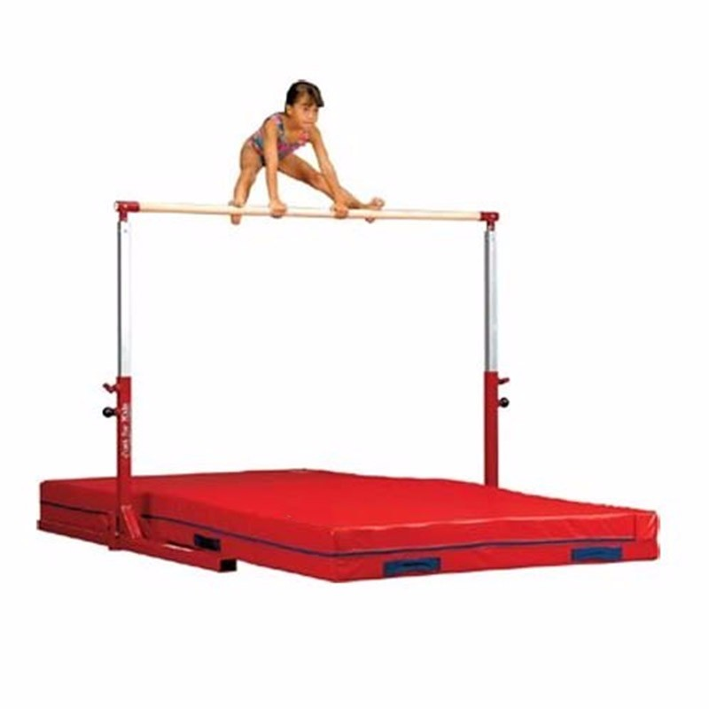 Adjustable 1.3-1.7m horizontal bar gymnastics equipment for kids Featured Image