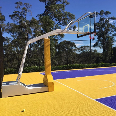 International Certificated Outdoor Basketball Hoops For Sale