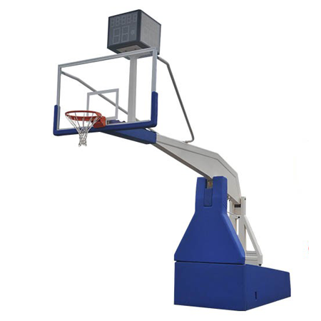 3.35m Indoor Top Grade Movable Basketball Hoop For Competition