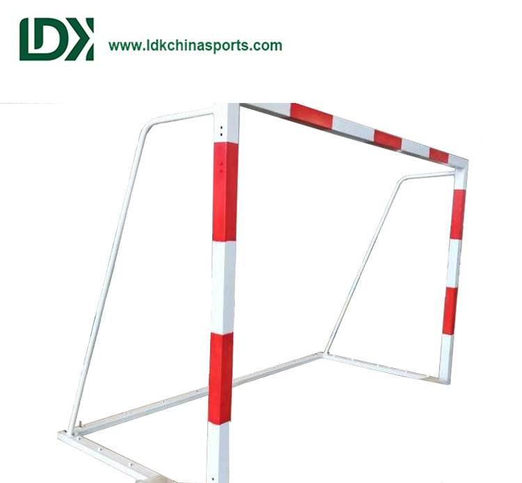 Steel handball goal football & soccer post for training