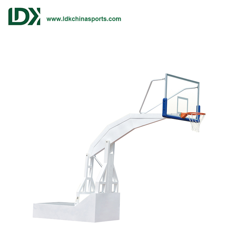 New Tempered Glass Basketball Backboard Portable Basketball Stand