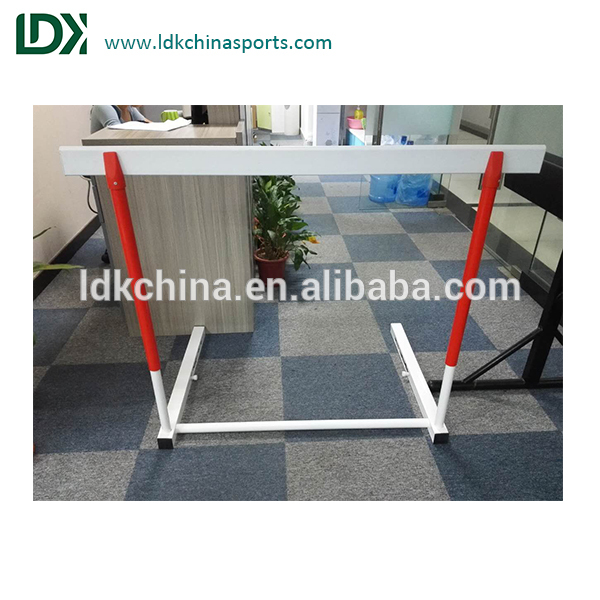 Athletics adjustable running hurdles for track and field equipment