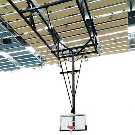 Hot Sale Custom Tempered Glass Ceiling Mounted Basketball Hoop Backboard