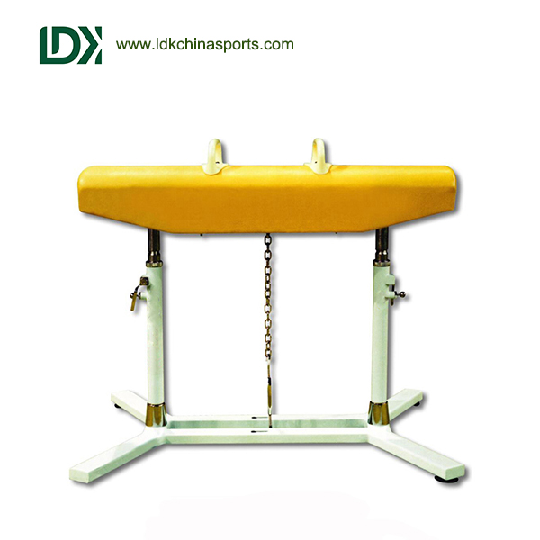 FIG Standard nice gymnastic pommel horse for competition