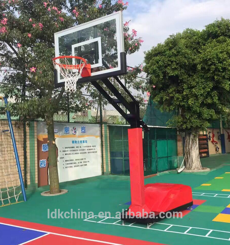 Hot Sale Basketball Equipment Portable Basketball Hoop Adjustable Height
