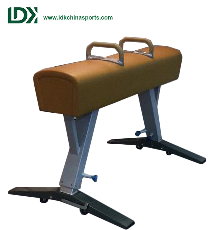 Competition Gymnastics Equipment ,Portable Gymnastic Pommel Horse For Sale