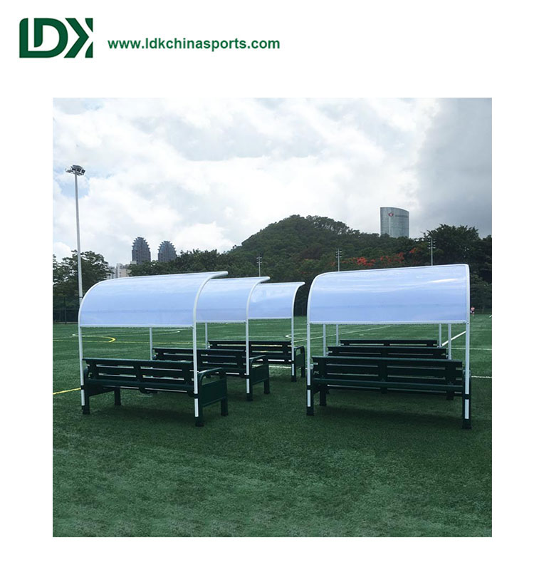 Wholesale best soccer equipment substitute bench / Team Player shelter
