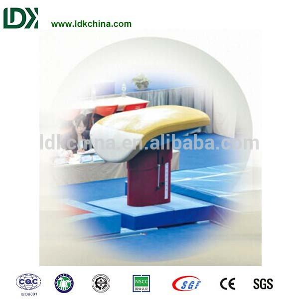 Gym body building equipment customized vaulting table