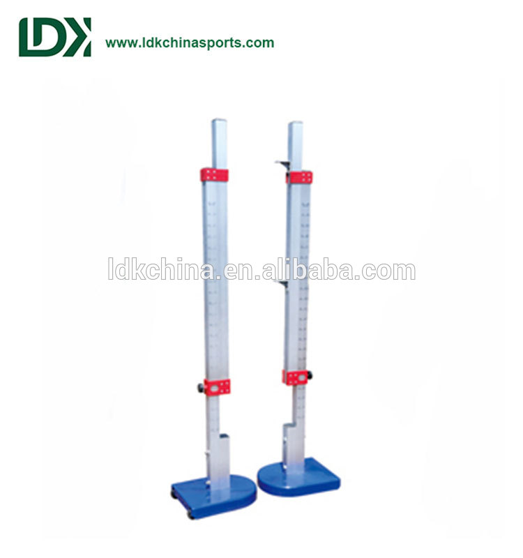 High jump standard portable track and field equipment