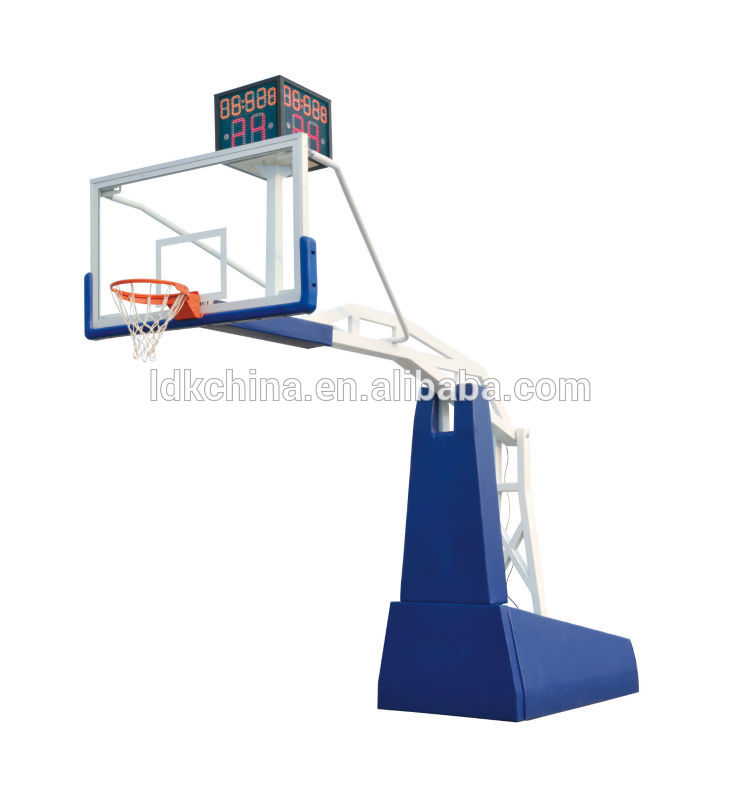 Supplier Hot Sale  Professional Electric Hydraulic Basketball Hoop China