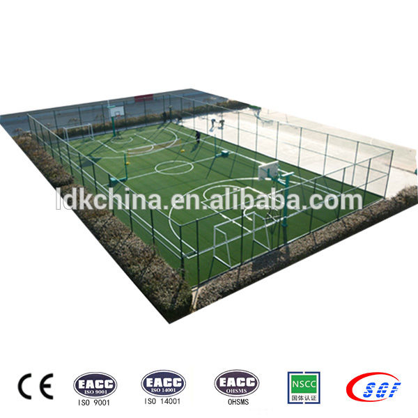Chinese manufacture custom steel football cage soccer ground for sale