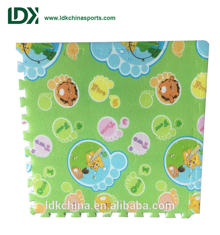 Hot Sale XPE Double Printing Kids Carpet Play Puzzle Mat