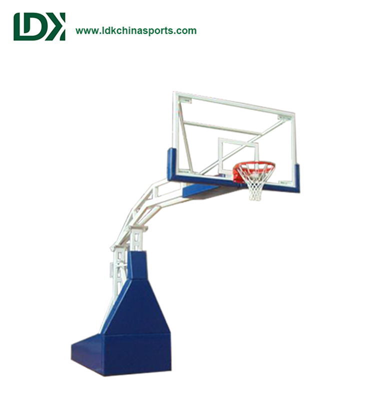 Customized Spring Assisted Basketball Hoop Portable For Competition