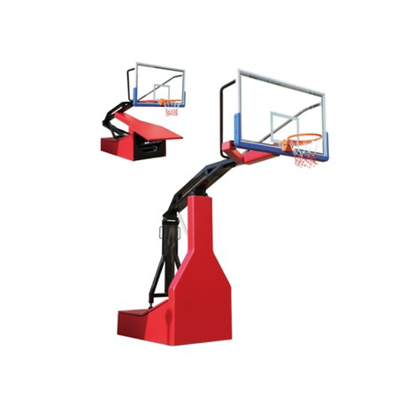 International Certified Cheap Spring Assisted Portable Basketball Hoop