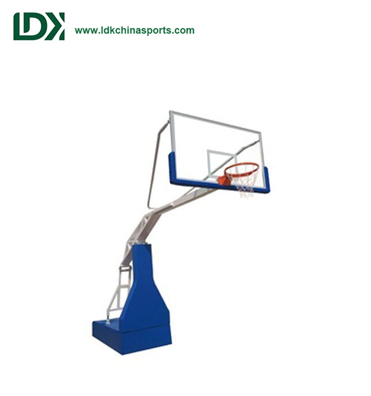 Indoor New Electric Hydraulic Basketball Hoop/Stand