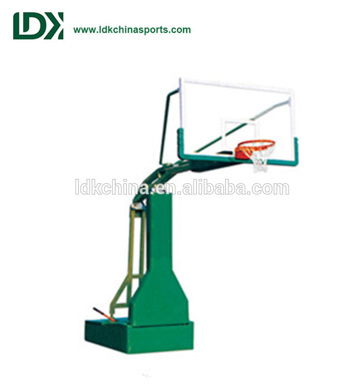 Professional manual hydraulic stand/indoor basketball hoop
