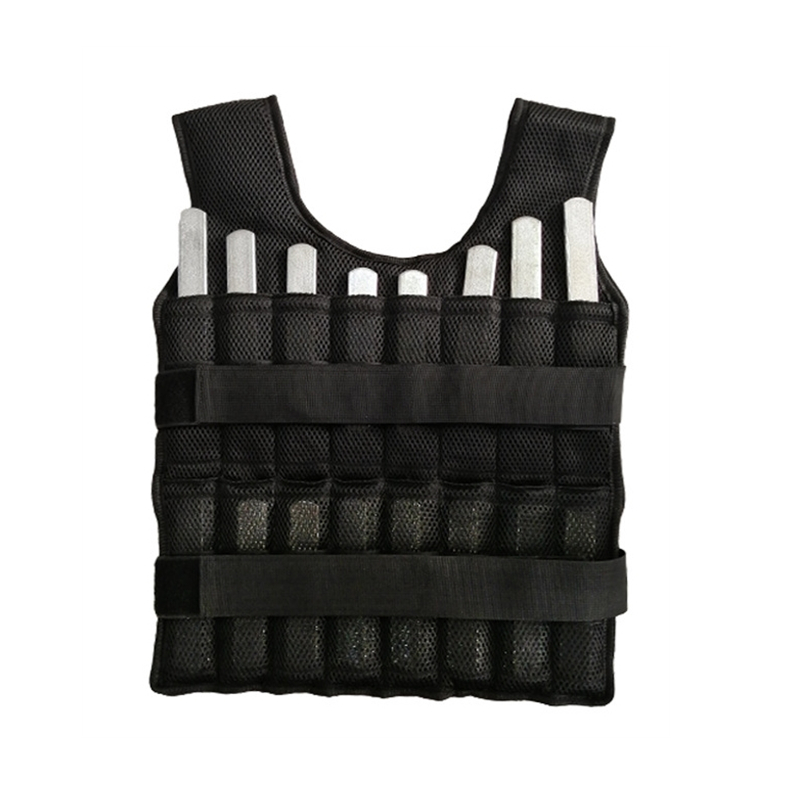 Gym Crossfit Workout Adjustable Chest Weight Vest Fitness Training Equipment Weight Vest 30kg