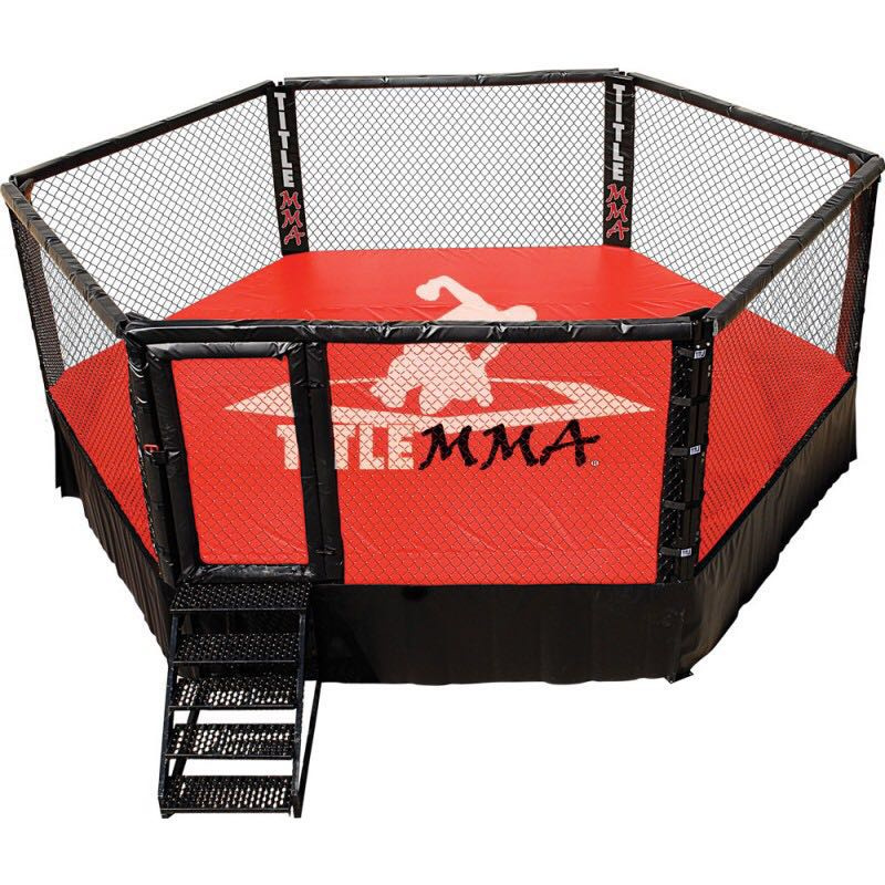 Customize Inflatable Boxing Wrestling Ring Pro Boxing Ring Cover Octagon MMA Boxing Cage