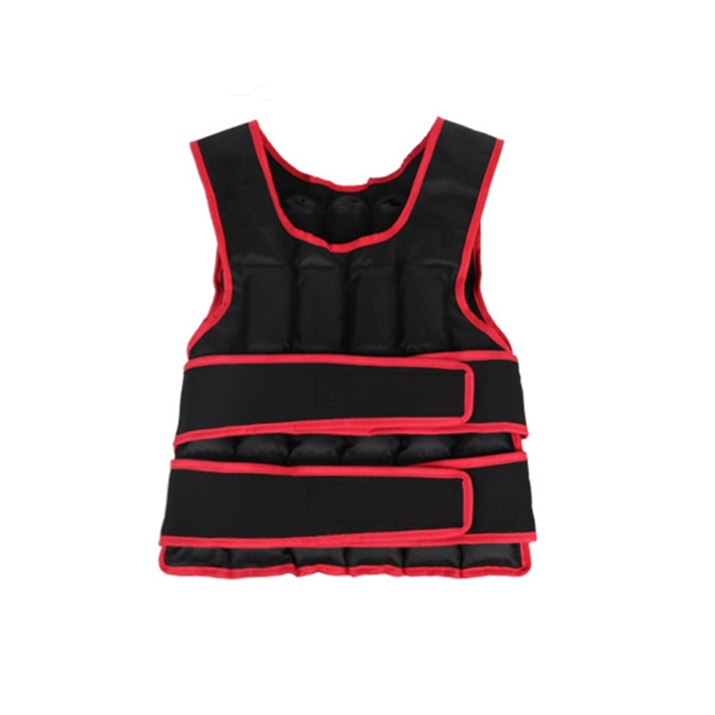 Training Weight Carrier Vest Gym Home Fitness Equipment Weight Vest 30kg Running Sports Gear