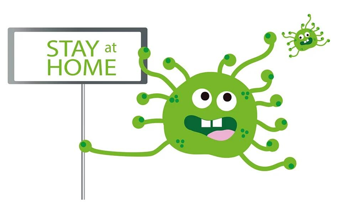 Stay home, keep healthy during the Coronavirus pandemic, fighting!