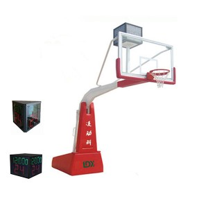 Professional Competition Equipment Folding Portable Basketball Hoops Driveway