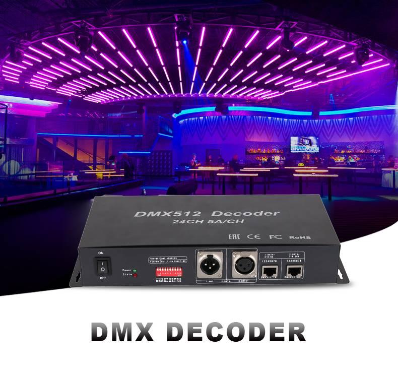 Wholesale High Quality for Dmx Led Pixel Controller - DMX DECODER