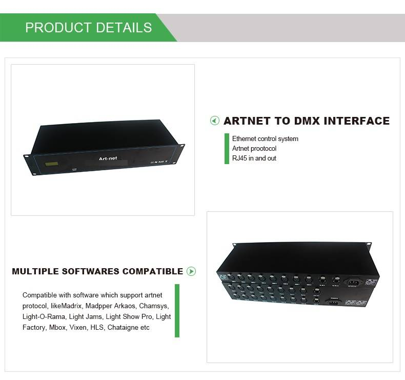 Wholesale Cheap price Dmx512 Controller - DMX ARTNET CONTROLLER