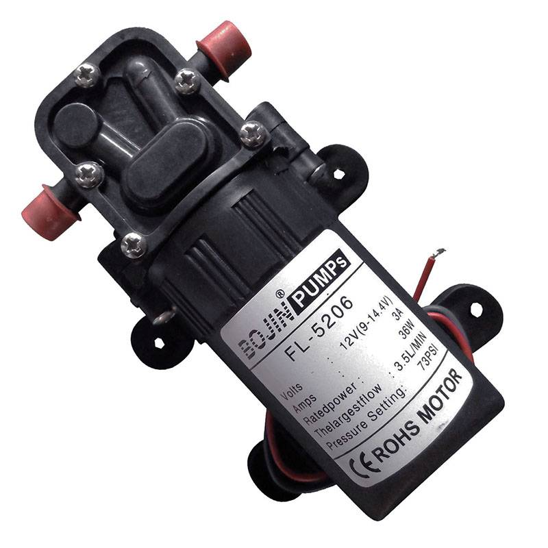 Battery Operated Water Pump for Garden 12V 40psi Self Priming Pump