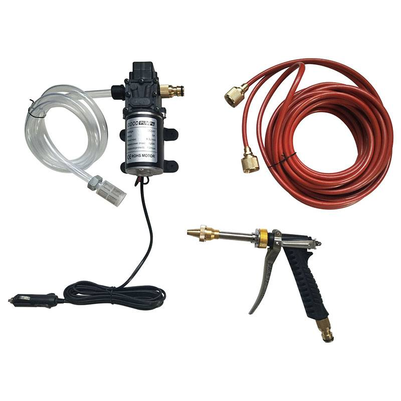 The 12 V Car Wash Machine High Pressure Car Washer Export to Singapore