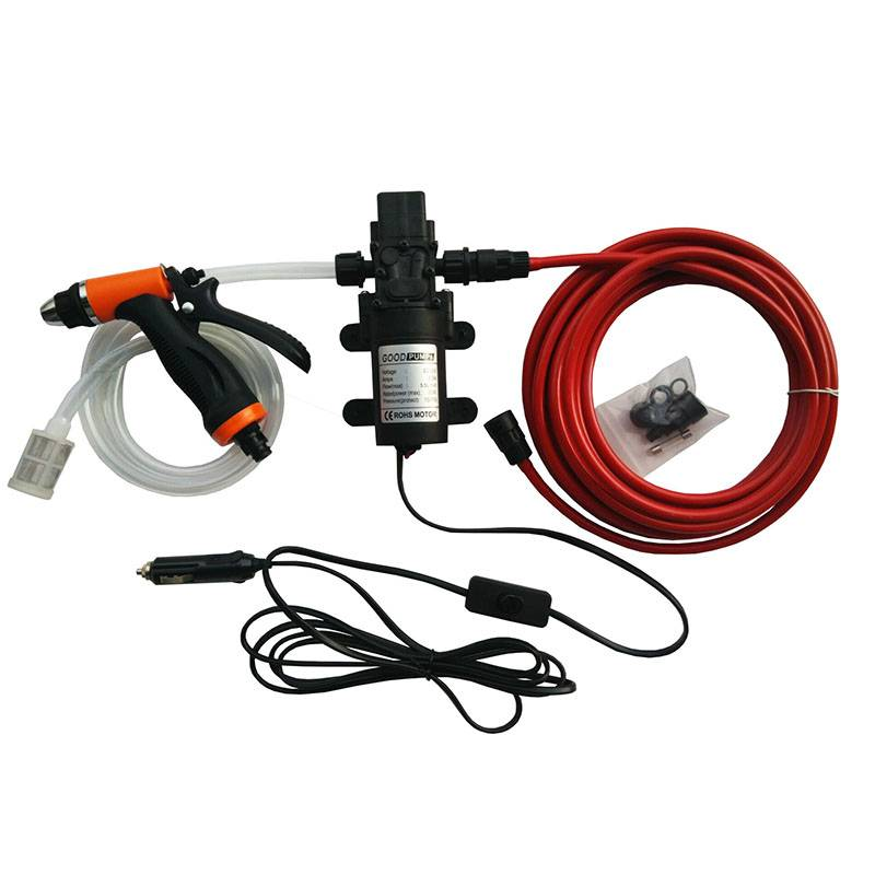 12V24V60W Car Washing Machine, High-Pressure Water Gun, Car Washing Glass, Watering Flowers